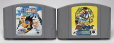 N64 Snowboard Kids 1 + 2 Japan Imports *US Seller* *Authentic* *Cleaned/Tested*