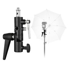 Metal Swivel Umbrella Adapter Studio Flash Light Stand Mount Bracket Holder UK