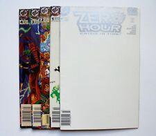 ZERO HOUR: CRISIS IN TIME #0,1,2,3,4 COMPLETE RUN DC COMICS SUPERMAN 1994 NICE
