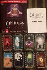 ULTIMA IX ASCENSION PRIMA OFFICIAL STRATEGY GAME GUIDE + 8  CARDS