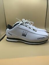 Custom Dada Supreme Women WR132WBW White Black Low Top Cheerleading Shoes SZ 8.5