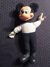 """Vintage MICKEY MOUSE Tourist #14503 Applause 12"""" Stuffed Plush Toy Doll VG+ 4.5"""