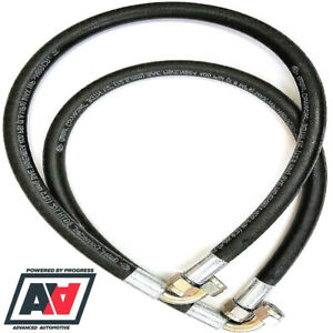 Mocal Oil Cooler Lines Hose Pipe 33 & 36 Inch Length With 1/2 BSP Fittings ADV