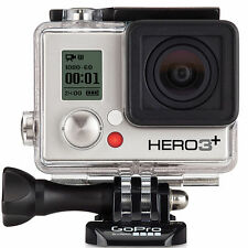 DEAL! GoPro Hero 3+ Action Camera Silver mounts, underwater, & housing AND POLE!