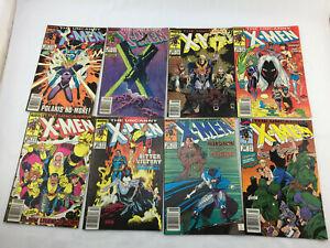 Uncanny X-Men 250, 251, 252, 253, 254, 255, 256, 259 (8 BOOKS!)