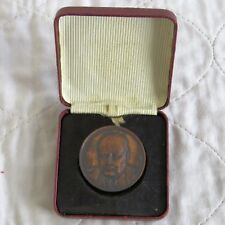 SIR WINSTON CHURCHILL 1954 80th BIRTHDAY 37mm MEDAL - boxed