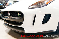 GR Front Side Splitters Carbon Fiber Jaguar F-Type 2014-2016