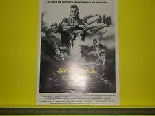 Poster AFFICHE Cinéma ORIGINALE du film STAR TREK II la Colère de KAHN 24 x 32