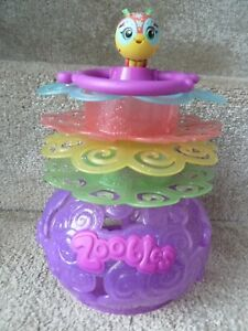 Zoobles Spring To Life! Rest Nest Storage Case ~ Holds 20 Zoobles !