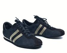 GUCCI women's blue canvas guccissima sneakers|Size EUR 37/US 7 (24.5 cm/9.4 in)