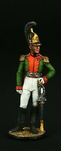 Tin soldier, Collectible Colonel of Life Guard of Dragoons  54 mm, Napoleonic