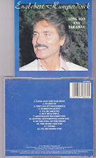 CD 12T ENGLEBERT HUMPERDINCK LONG AGO AND FAR AWAY DE 1989 FRANCE OR 0060