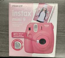 New ListingFujifilm Instax Mini 9 Instant Film Camera - Flamingo Pink with Accessories