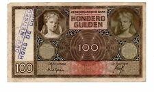 NEDERLAND 100 GULDEN 6 JUNI 1932 DEMONETISED - HORS DE COUR -  BUITEN OMLOOP