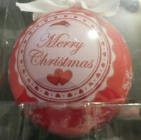 MERRY CHRISTMAS LOVED YOU YESTERDAY PERSONALIZED BALL CHRISTMAS ORNAMENT! a50UNN