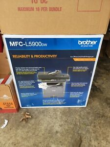 Brother MFC-L5900DW Wireless Black-and-White All-In-One Laser Printer WiFi NIB