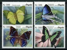 Angola Butterflies Stamps 2018 MNH Papilio Butterfly Insects 4v Set