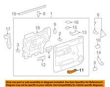 GM OEM-Interior Inside Door Handle Right 15936893