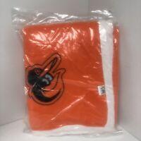 Baltimore Orioles Sherpa Blanket - SGA - 9/21/19 NEW In Wrapper 2019