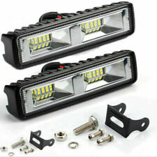 2X LED Arbeitsscheinwerfer Light Bar 12V 24V Offroad Flutlicht Strahler 48W SUV