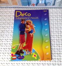 Lego Deco Magazine No.15 für Scala 3149 Happy Home Neu!