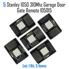 5 Stanley 1050 Linear 310Mhz 1 Button Garage Door Gate Remote Transmitter 105015