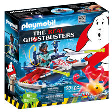 PLAYMOBIL le real ghostbusters ZEDDEMORE avec Aqua Scooter 9387 NEUF