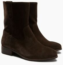 NEXT Suede Leather Slouch Ankle Boots, sizes UK 5 6 7