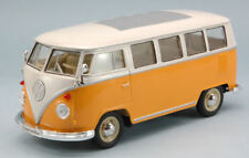 Volkswagen VW T1 Bus 1963 Orange / Cream 1:24 Model 2095OR WELLY