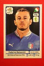 Panini EURO 2012 N. 321 ITALIA BALZARETTI NEW With BLACK BACK TOPMINT!!