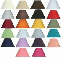 Oaks Lighting Cotton Coolie Lamp Shade 8 inch S501/8 Available in 25 Colours