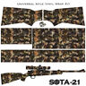 ES CAMO SOTA-B Wrap Vinyl Skin for Rifle. 20 patterns Camouflage for Gun