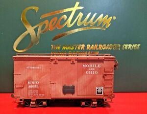 On30 Bachmann 18' Box Car M&O Mobile & Ohio Custom Painted & Weathered 46053