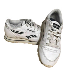Reebok Classics Women's Running Trainers UK 4 EU 36 White Leather RB408