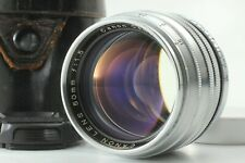 Canon 50mm F/1.5 Leica w/ Case LTM L39 Screw Mount MF Lens From Japan