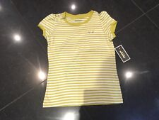 NWT Juicy Couture New & Gen. Short Sleeve Stripe Cotton T-Shirt Girls Age 10