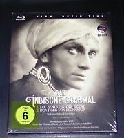 DAS INDISCHE GRABMAL (1921)  BLU RAY IM SCHUBER SCHNELLER VERSAND NEU & OVP