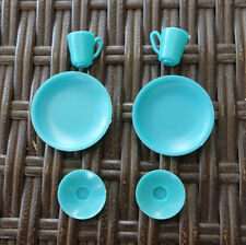 Barbie Hostess Set Dishes Plates, cups, saucers 1960's