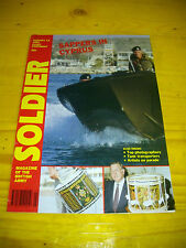 SOLDIER MAGAZINE OF THE BRITISH ARMY ESERCITO INGLESE - 1992 - SAPPERS CYPRUS