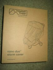 New ListingMountain Buggy Storm Cover For Nano Duo Stroller. Brand New, In Box!