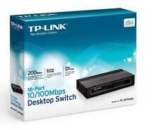 TP-Link TL-SF1016D 16-Port Unmanaged 10/100M Desktop Network Switch