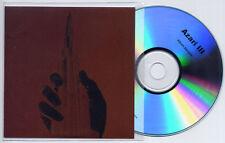 AZARI & III Album Sampler 2011 UK 5-trk promo test CD and