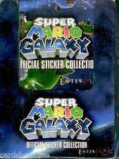 2009 Nitendo Super Mario Galaxy Stickers Collection Factory box (50 pks)