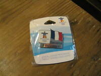 Vancouver 2010 Winter Olympics France French Flag Pin