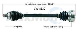 CV Axle Shaft Rear Left SurTrack VW-8132