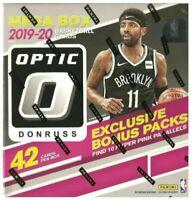 Random Team 2019-20 Donruss Optic Mega Basketball 42 Card Box break,(Zion, Ja?)