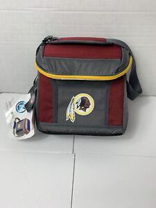 NFL Coleman Cold Washington Redskins 24 Hour/9 Can Soft Sided Cooler NEW