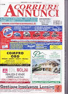 2017 10 20 - CORRIERE ANNUNCI - 20 10 2017 - N.39  ANNO XXVIII+CORRIERE INCONTRI