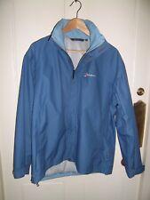 Berghaus waterproof windproof light blue  jacket coat hood size 14