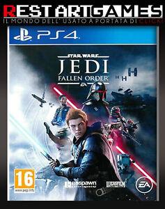 STAR WARS JEDI FALLEN ORDER - PS4 - PLAYSTATION 4 - USATO GARANTITO